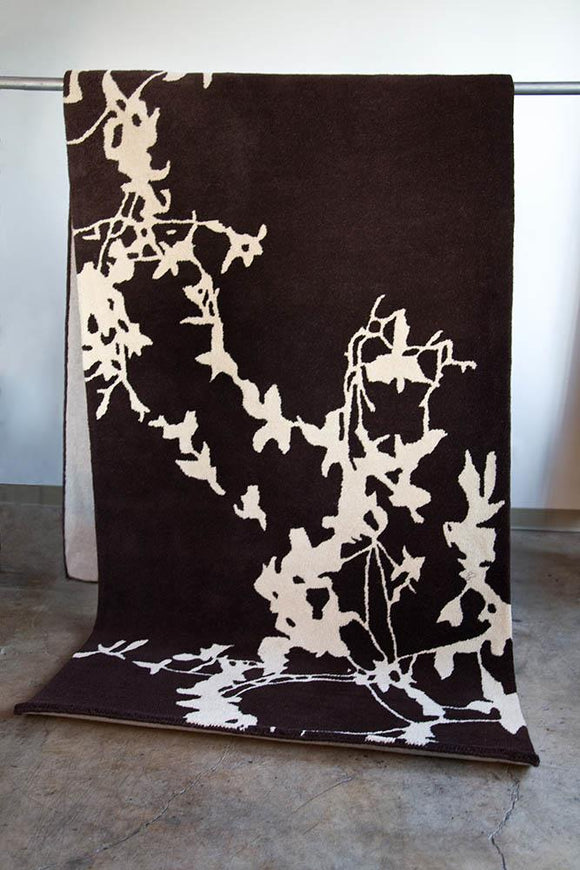 Silhouette Hand Tufted Wool Rug 144 X 4