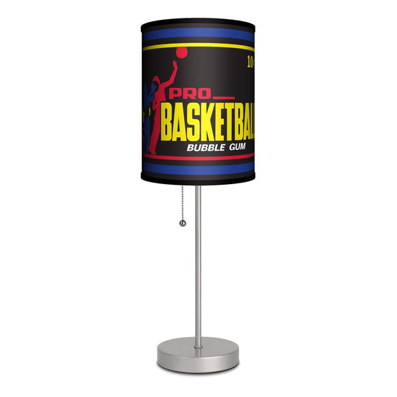 Retro Basketball Gum Wrapper 1971 Lamp