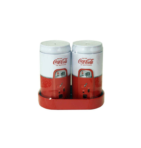 Vintage Coke Salt And Pepper Shakers Set