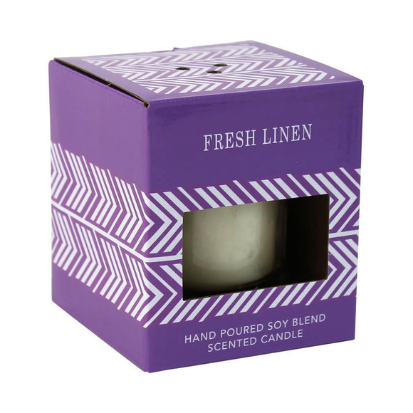 Fresh Linen Scented Candle