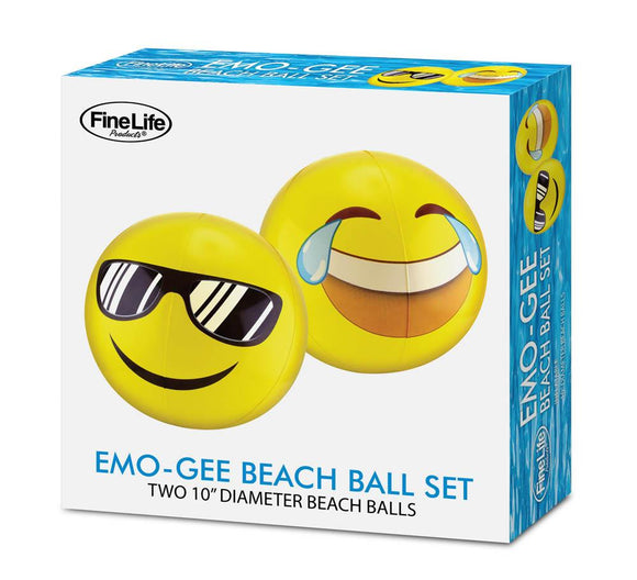 Emogee Beach Ball Set