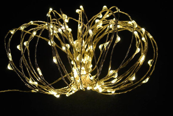 30 Led Copper Fairy Light Warm White
