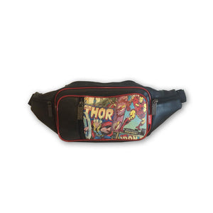 Faux Leather Retro Marvel Fanny Pack