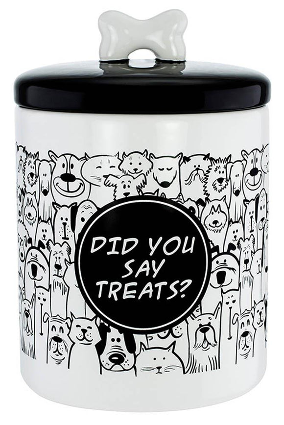 Pet Treats Canister