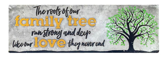 Family Tree Decorative Sign
