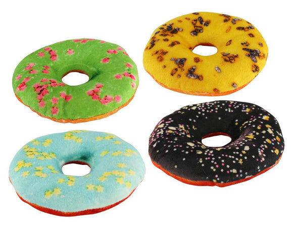 Dog Toy Donuts Set Of 4