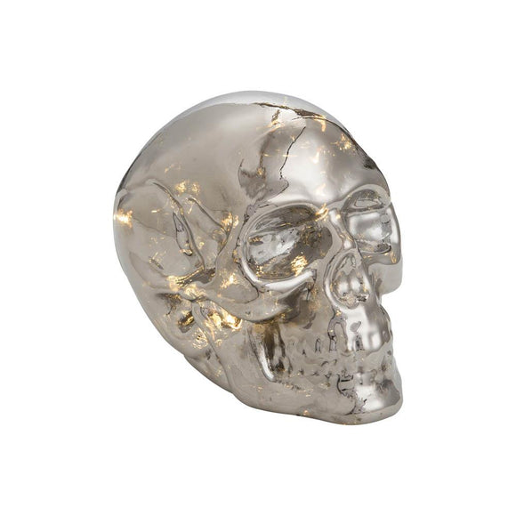 Light Up Glass Skull