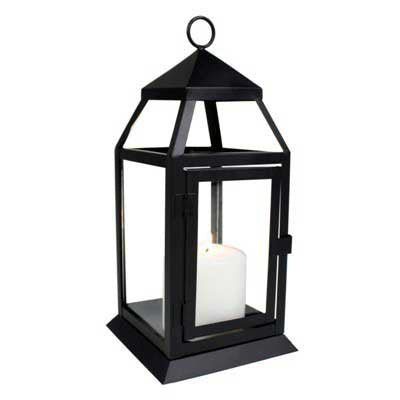 Small Black Richmond Lantern