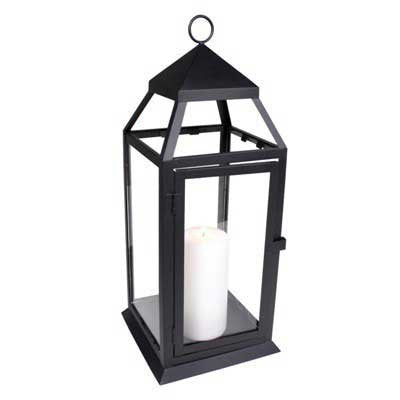 Medium Black Richmond Lantern