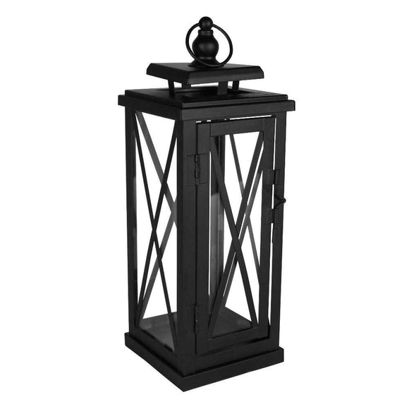 Small Black Woodside Lantern