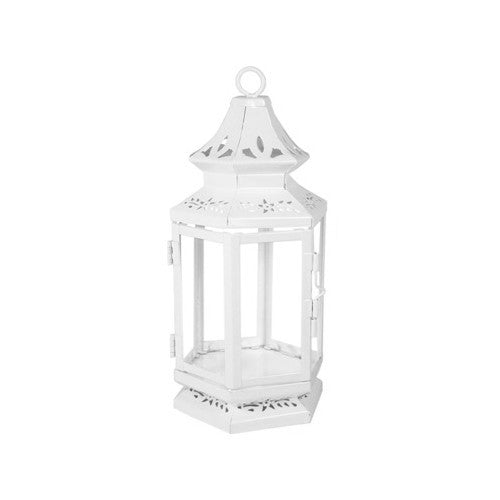 Medium White Stagecoach Lantern