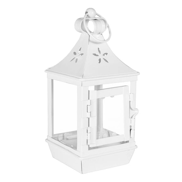 Mini White Camden Lantern