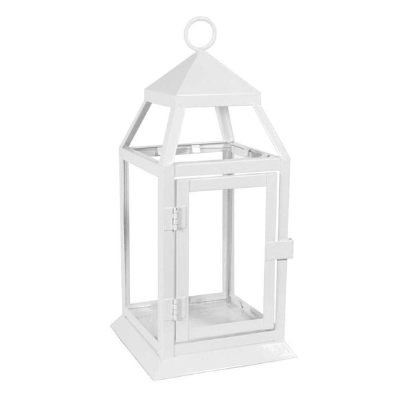Small White Richmond Lantern