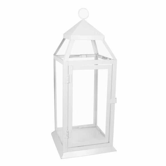 Medium White Richmond Lantern