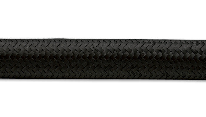 10ft - Black Nylon Braided Flex Hose