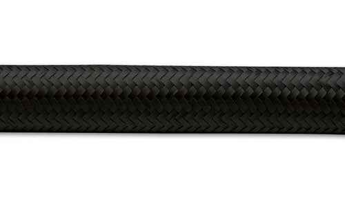 2ft - Black Nylon Braided Flex Hose