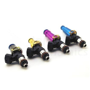 Injector Dynamics 2200cc Injectors-48mm Length - 11mm Gold Top/Denso And -204 Low Cushion (Set of 4)