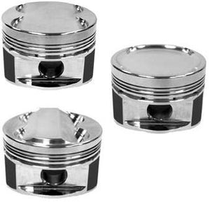 Manley 08+ Mitsubishi Evo X (4B11T) 86mm STD Bore 9.0:1 Dish Piston Set with Rings