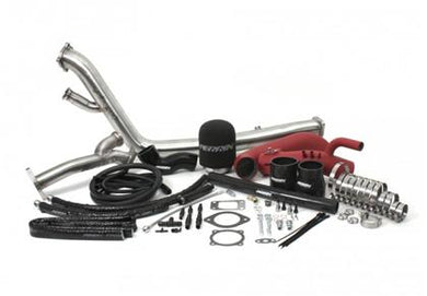 Perrin 04-07 Subaru STi / 02-07 WRX Red Rotated Turbo Tuner Kit