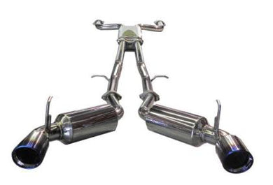 Injen 03-08 350Z Dual 60mm SS Cat-Back Exhaust w/ Built In Resonated X-Pipe