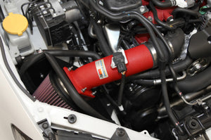 K&N 08-11 WRX/STi 2.5L H4 Red Typhoon Short Ram Intake