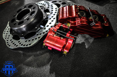 Magnus Evo 8/9 Drag Lightweight Brake Package