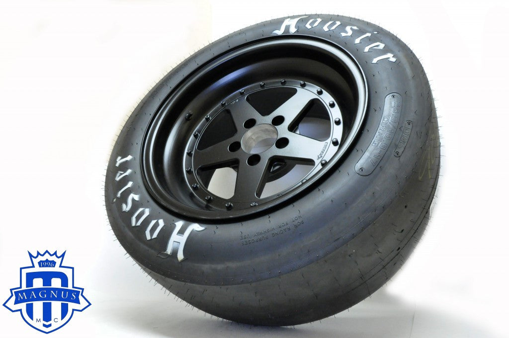 R35 GTR 17″ Bogart Racing Wheel and Hoosier Tire package