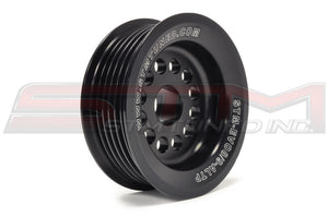 STM Evo 8/9 10% Under-Driven Alternator Pulley with Raised Guides