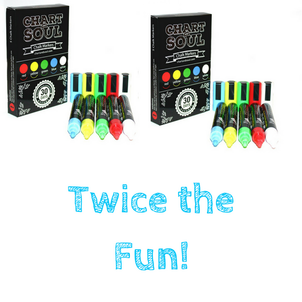 Twin Pack of Chalk Markers