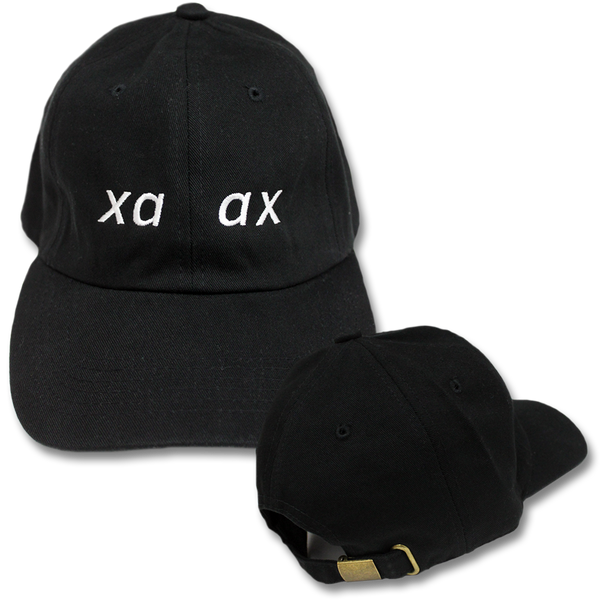 xa ax Embroidered Strap Hat