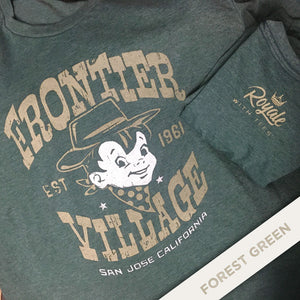Tee from the Past: Frontier Village, San Jose, California