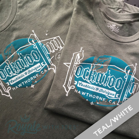 Cockatoo Inn Vintage Bar and Cocktail TShirt