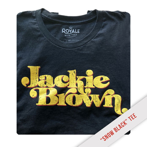 Jackie Brown Distressed Logo Tee