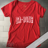 Ba-Bong (The Sound of Netflix) T-shirt Ladies V-Neck Tee