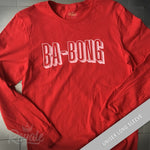 Ba-Bong (The Sound of Netflix) T-shirt Long Sleeve Unisex Tee