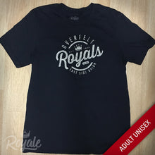 WCO Overfelt High School Royals San Jose Distressed Unisex Tshirt
