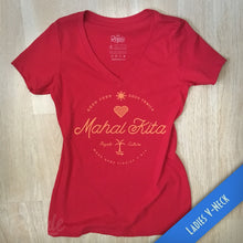 Mahal Kita Filipino Ladies V Neck Tee
