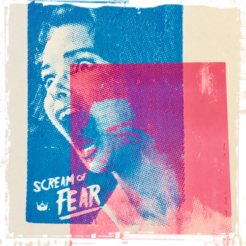 Scream of Fear Film Art Print Original Ink Design