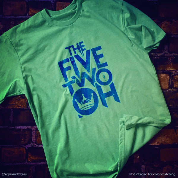 Five Two Oh 520 Tucson Arizona T-shirt Royale with Tees