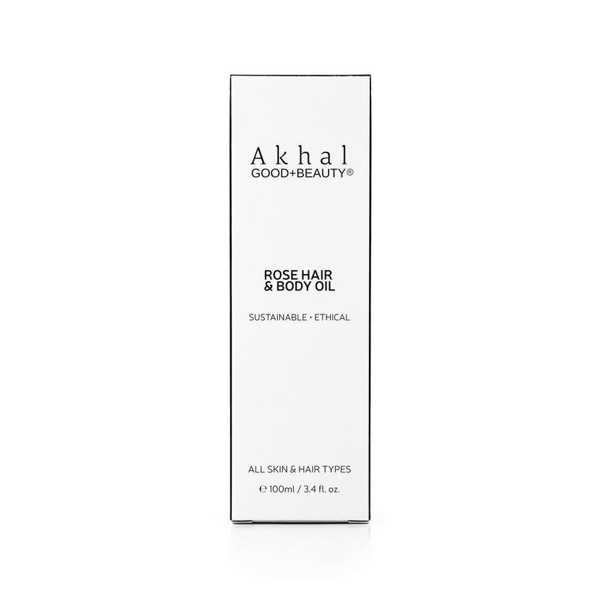 Rose Hair & Body Oil | Akhal Beauty