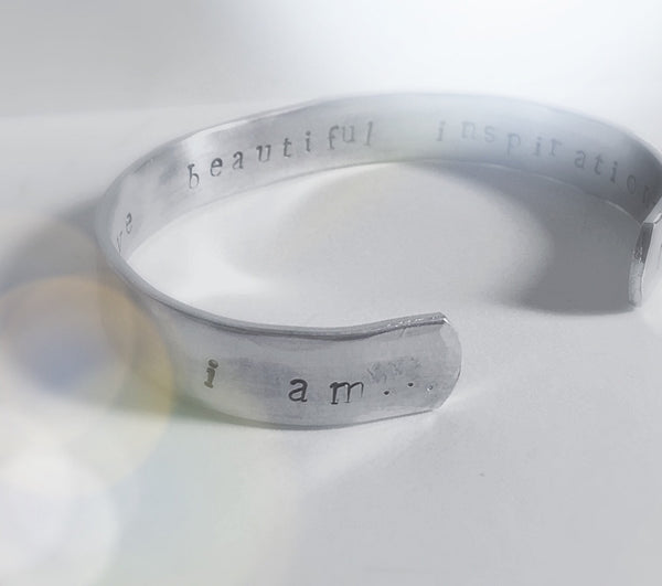 I Am Loved, Secret Message Personalized Bracelet