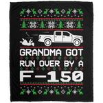 Wheel Spin Addict Christmas Ford F-150 2015-2019 Fleece Blanket - 50x60