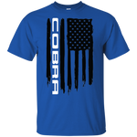 Cobra Mustang Shelby S550 S197 American Flag T-Shirt New