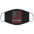 Veteran American Flag Face Mask