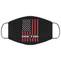 Doctor Doctor American Flag Face Mask
