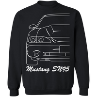 WSA Ford Mustang SN95 1994-1998 Outline Crewneck Sweatshirt