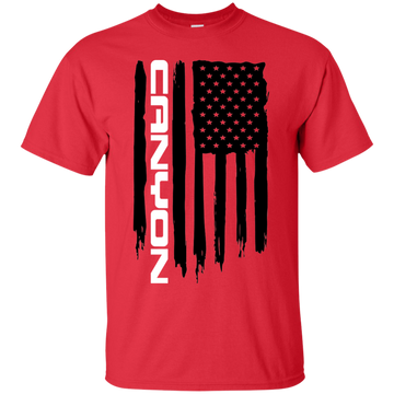GMC Canyon Truck American Flag T-Shirt