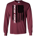 New Edge Ford Mustang 1999 2000 2001 2002 2003 2004 American Flag Long Sleeve T-Shirt