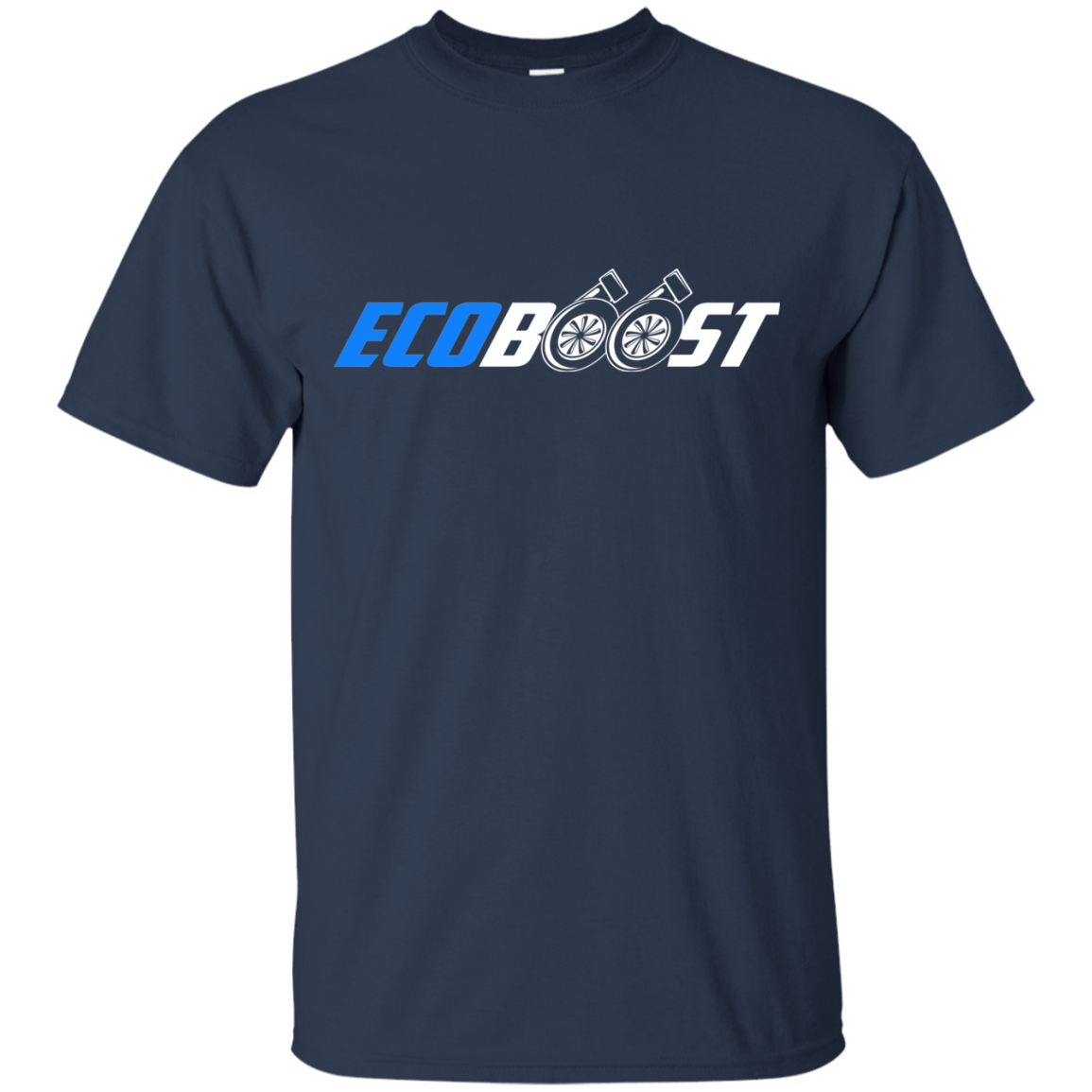 Ford Fusion Ecoboost >> Ecoboost Pullover T-Shirt 2.7 3.5 2.0 1.6 F-150 Mustang Ford Focus Fiesta Fusion | eBay