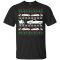 Ugly Christmas Ford Mustang Cotton T-Shirt S550 S197 New Edge Foxbody